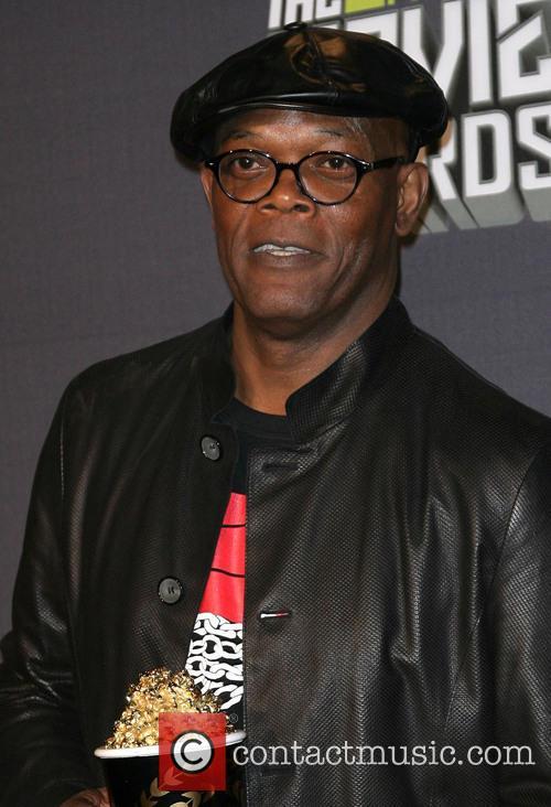 Samuel L. Jackson at MTV Movie Awards