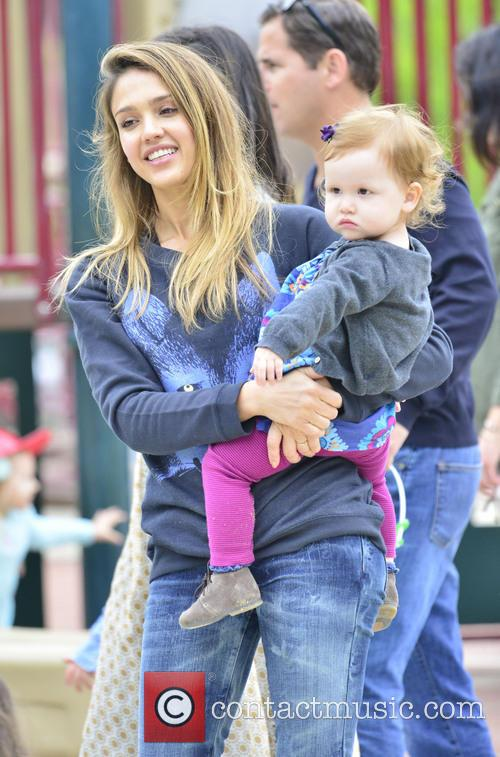 Jessica Alba, Haven Warren and Cash Warren 6