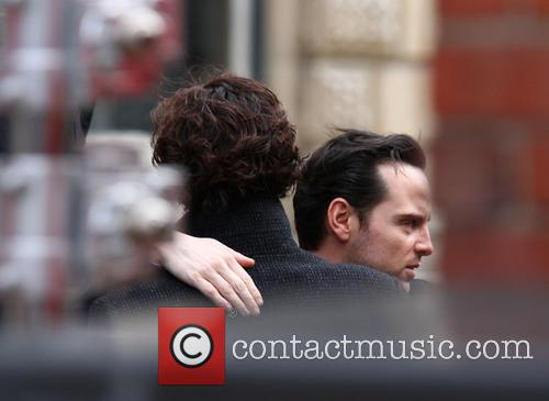 Andrew Scott and Benedict Cumberbatch 5