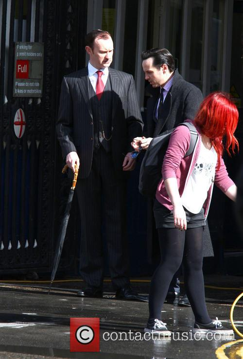 Mark Gatiss and Andrew Scott 4