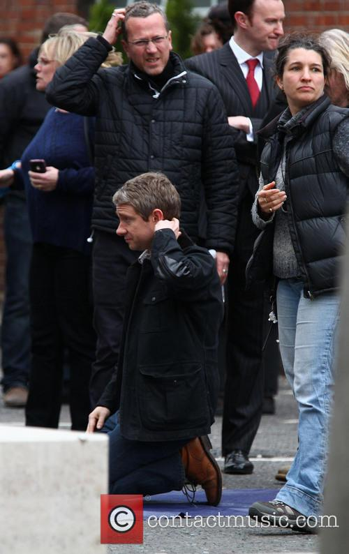 martin freeman filming takes place for the 3605909