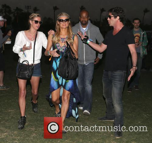 Nicky Hilton, Paris Hilton and Brandon Davis 4