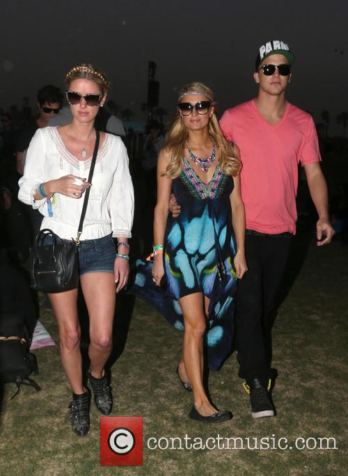 Nicky Hilton, Paris Hilton and River Viiperi 1