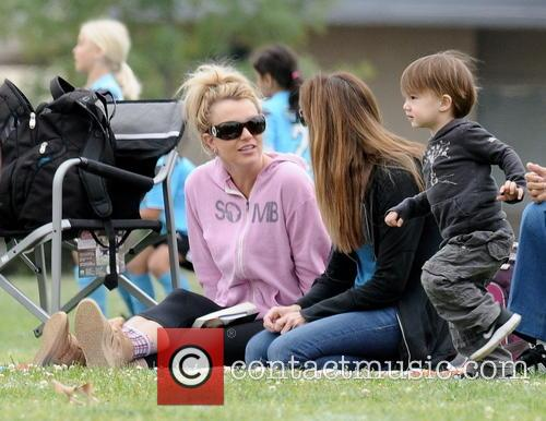 britney spears britney spears at soccer match 3606116