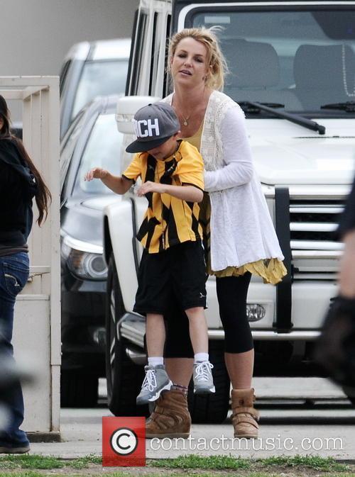 Britney Spears and Jayden Federline 5