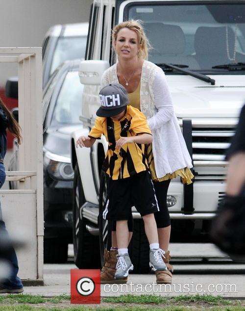 Britney Spears and Jayden Federline 1