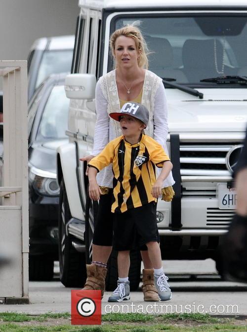 Britney Spears and Jayden Federline 8