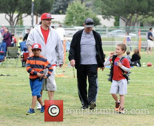 Kevin Federline, Sean Federline and Jamie Spears 3