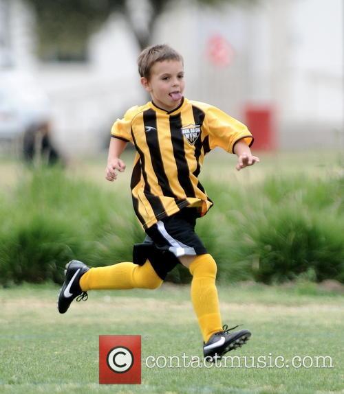 sean federline britney spears at soccer match 3606129