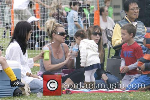 britney spears britney spears at soccer match 3606462