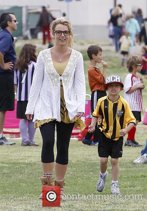 Britney Spears and Jayden Federline 11
