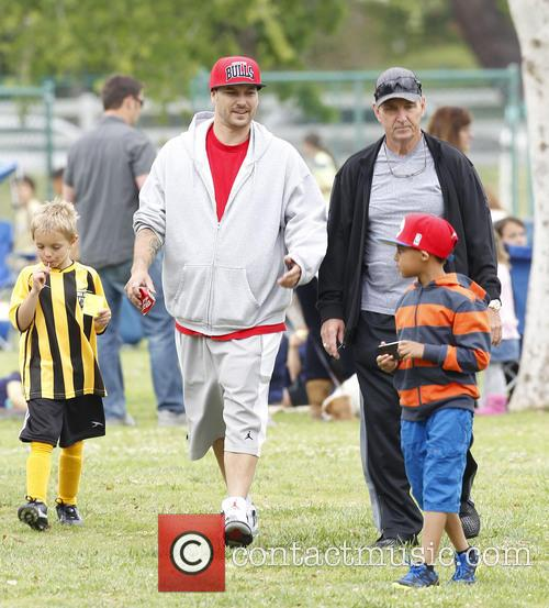 kevin federline britney spears at soccer match 3606458