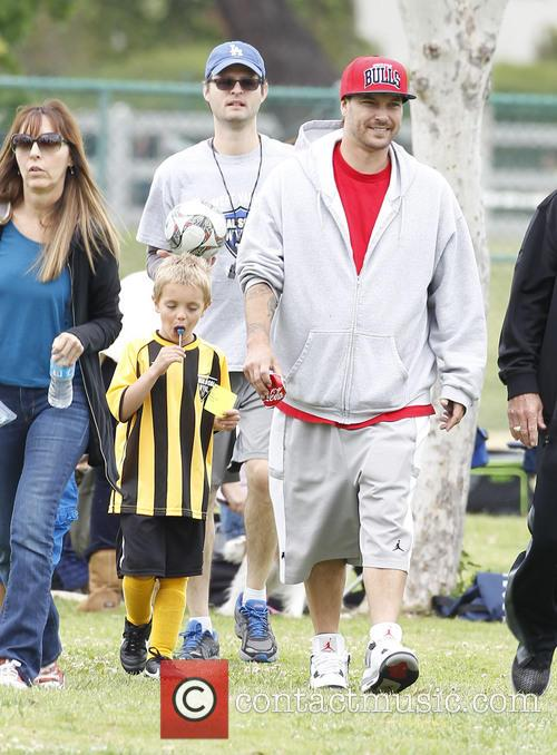 Britney Spears At Soccer Match