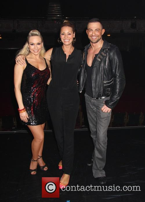 Tess Daly, Kristina Rihanoff and Robin Windsor 2