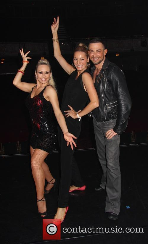 Tess Daly, Kristina Rihanoff and Robin Windsor 3