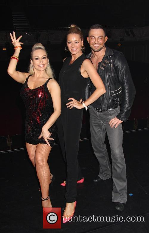 Tess Daly, Kristina Rihanoff and Robin Windsor 1