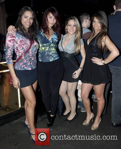 Jamelia, Moema Cordovil, Adriana Vieira, Guest and Vanessa Frota 3