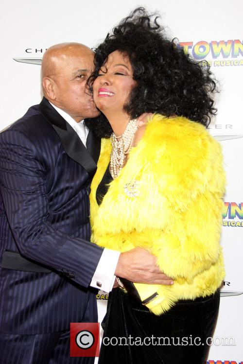 Berry Gordy and Diana Ross 1
