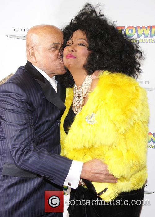 Berry Gordy and Diana Ross 5