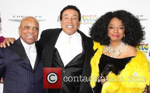 Berry Gordy, Smokey Robinson and Diana Ross 2