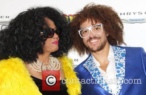 Diana Ross and Red Foo 2