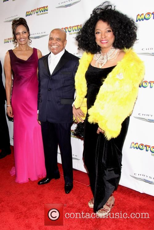 Diana Ross, Berry Gordy and Eskedar Gobeze 3