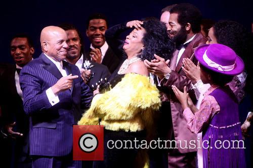 Berry Gordy, Diana Ross, Br, On Victor Dixon, Valisia Lekae and Raymond Luke Jr. 1