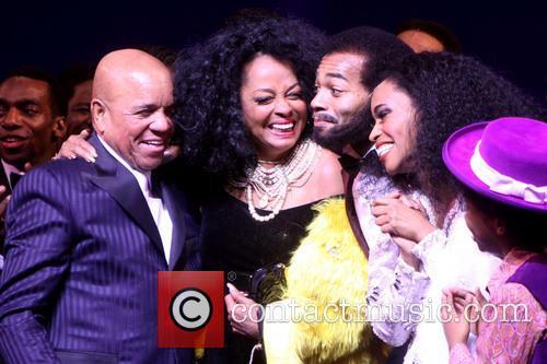 Berry Gordy, Diana Ross, Br, On Victor Dixon, Valisia Lekae and Raymond Luke Jr. 3