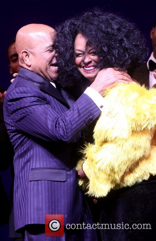 Berry Gordy and Diana Ross 6