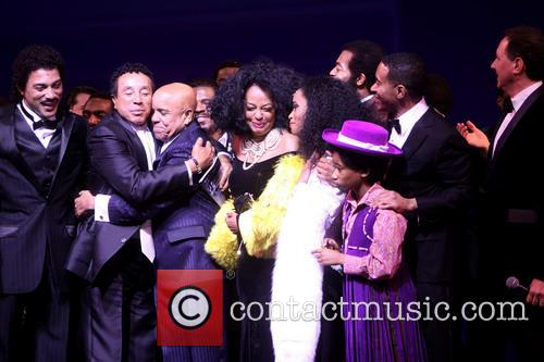 Smokey Robinson, Berry Gordy, Diana Ross, Br, On Victor Dixon, Valisia Lekae, Raymond Luke Jr., Charles R and Olph-wright 7