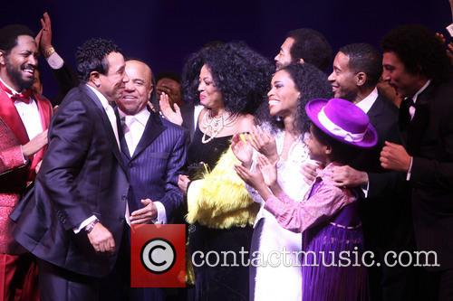 Smokey Robinson, Berry Gordy, Diana Ross, Br, On Victor Dixon, Valisia Lekae, Raymond Luke Jr., Charles R and Olph-wright 1