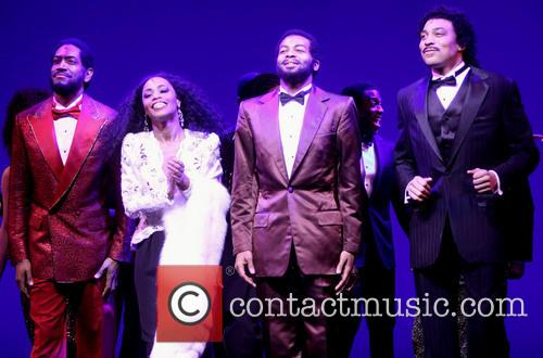 Valisia Lekae, Brandon Victor Dixon and Cast 2