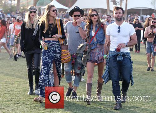 Alessandra Ambrosio, Jamie Mazur, Coachella Music Festival, Coachella