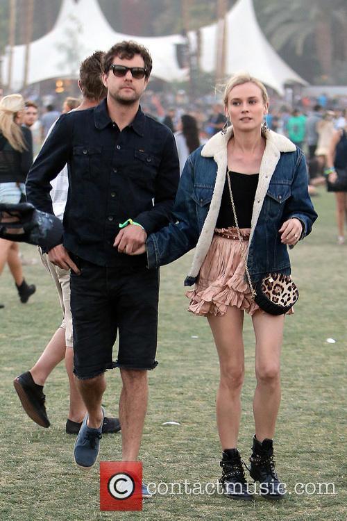 Diane Kruger, Joshua Jackson, Coachella Music Festival, Coachella