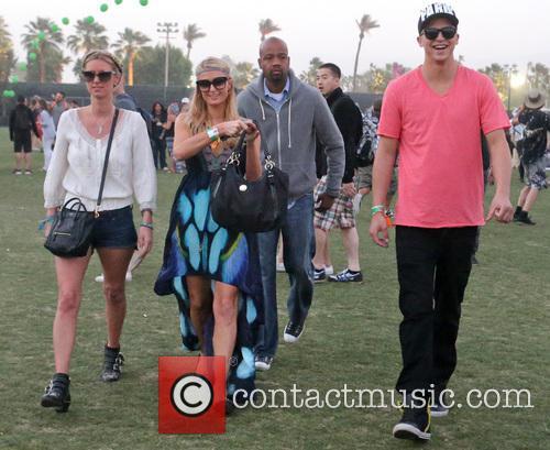 Paris Hilton, Nicky Hilton, River Viiperi, Coachella Music Festival, Coachella