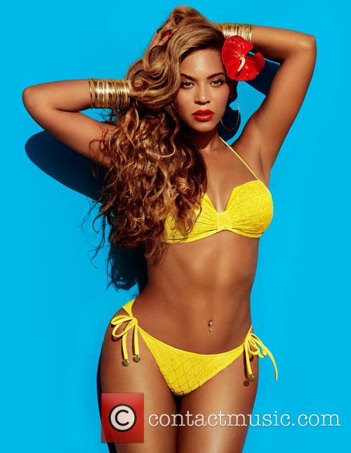 Beyonce models swimwear for H&M