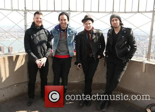 Fall Out Boy, Andy Hurley, Pete Wentz, Patrick Stump and Joe Trohman 4