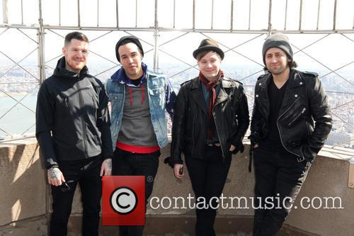 Fall Out Boy, Andy Hurley, Pete Wentz, Patrick Stump and Joe Trohman 5