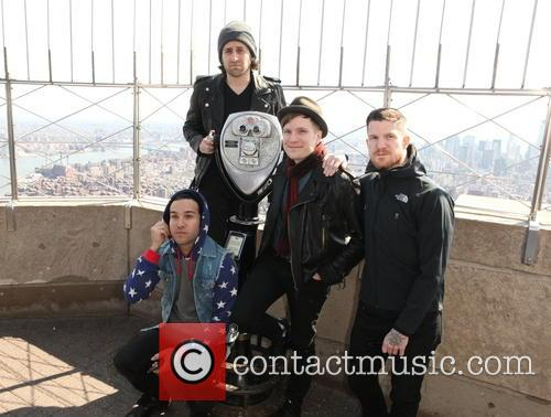 Fall Out Boy, Andy Hurley, Pete Wentz, Patrick Stump and Joe Trohman 6
