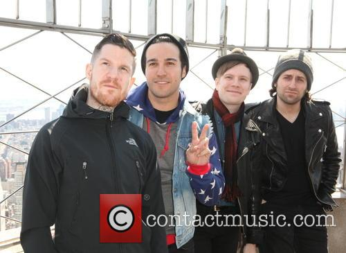 Fall Out Boy, Andy Hurley, Pete Wentz, Patrick Stump and Joe Trohman 7