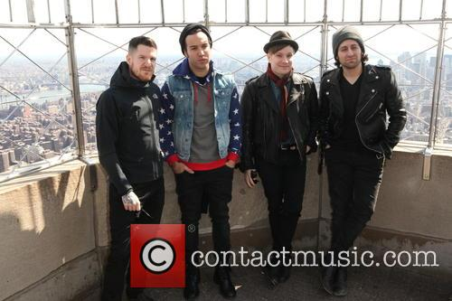 Fall Out Boy, Andy Hurley, Pete Wentz, Patrick Stump and Joe Trohman 8