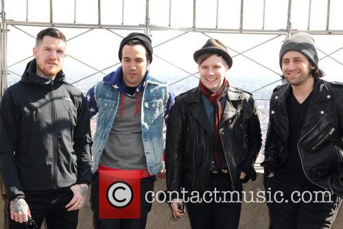 Fall Out Boy, Andy Hurley, Pete Wentz, Patrick Stump and Joe Trohman 1