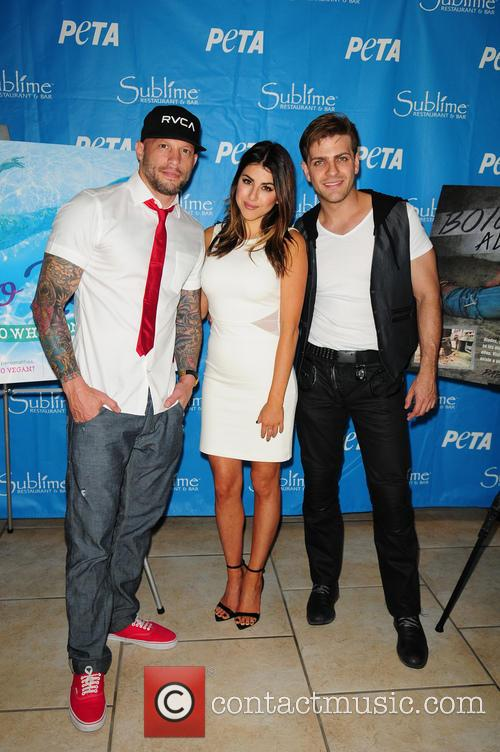 Pablo Azar, Daniella Monet and Ami James