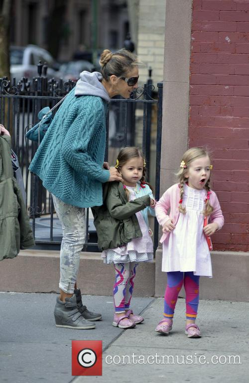 Sarah Jessica Parker, Tabitha Broderick and Marion Broderick 18