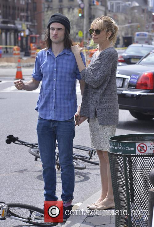 Sienna Miller and Tom Sturridge 9