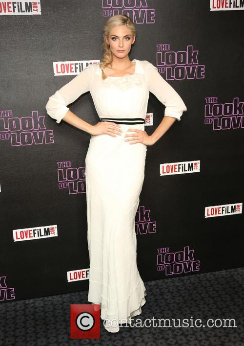 Tamsin Egerton arrives at 'The Look of Love' London premiere