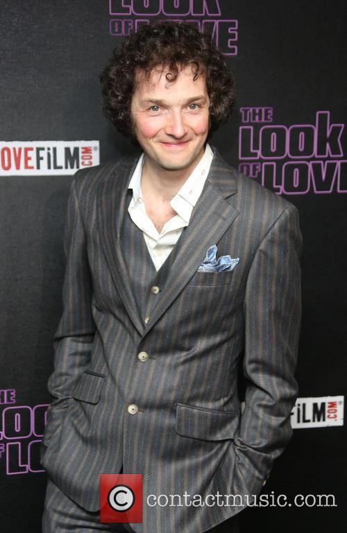 Chris Addison arrives at 'The Look of Love' London premiere