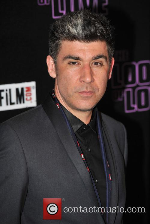 James Lance arrives at 'The Look of Love' London premiere