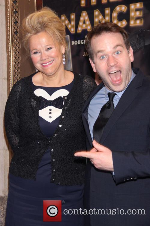 Caroline Rhea and Mike Birbiglia