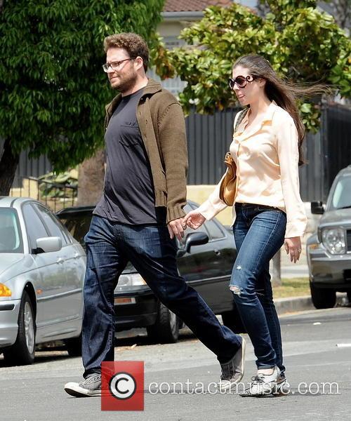 Seth Rogen and Lauren Miller 8